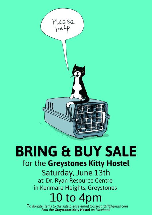 Poster cat-rehoming charity Ire - debbiejenkinson | ello