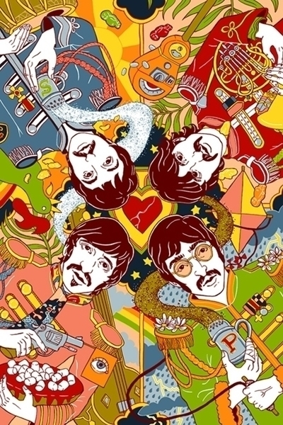 Sgt. Lonely Hearts Club Band - beatles - juliaminamata | ello