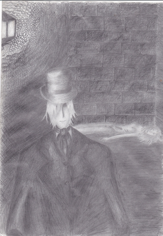 Jack Ripper job shadows - illustration - aiprizraknnwarts   ello
