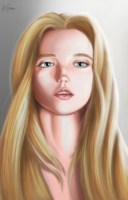 digitalpainting, portrait, woman - artcyan | ello