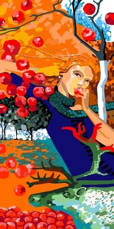 illustration, painting - natatulegenova | ello