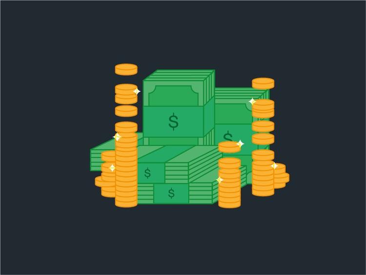 Paper Coins - money, paper, coins - ghulamrusli | ello