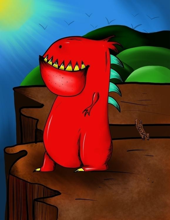 Growler lives MonsterWorld, Fla - dzobel | ello