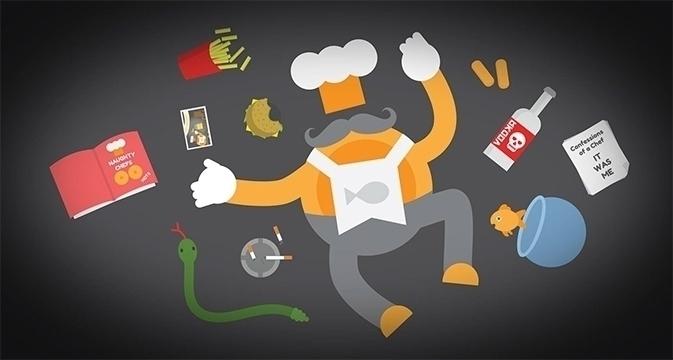Monsieur Le Chef - illustration - fishfinger-1442 | ello