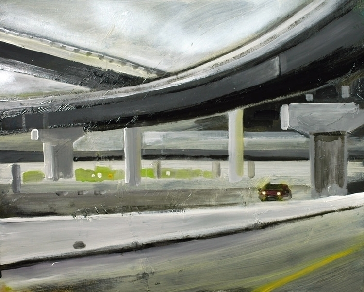 Highway (Cologne ), 80x100 cm,  - reconq   ello