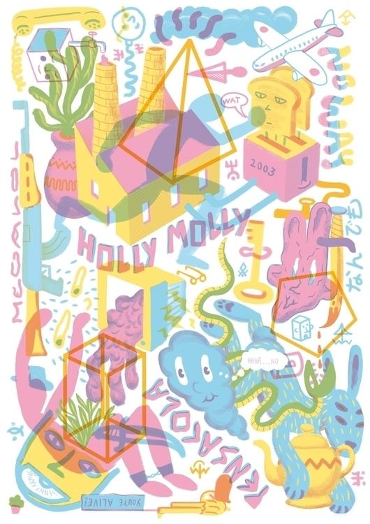 durgs - illustration, doentdudurgs - konndeplus | ello