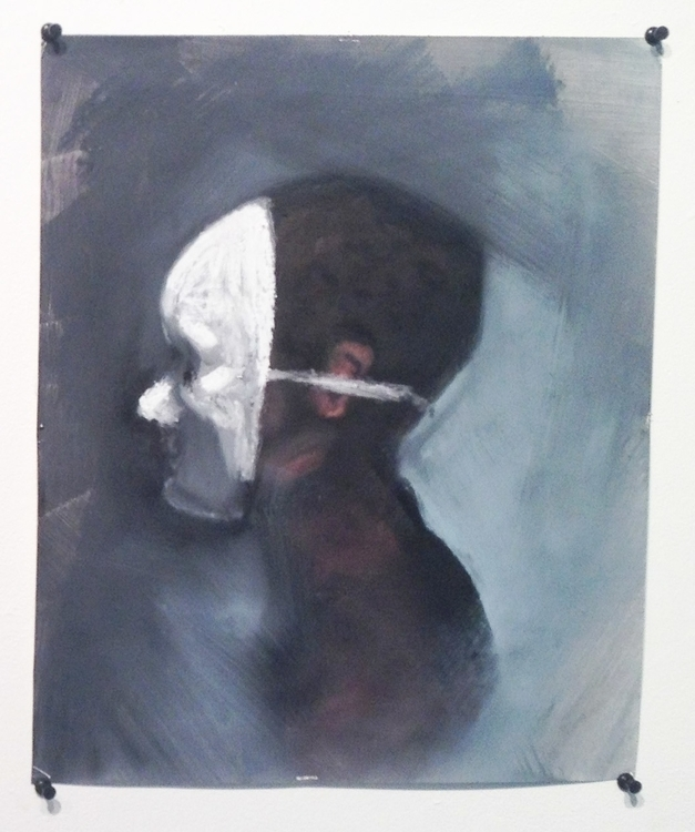 Mask - painting, paint, oilbar, oilpainting - mannnaz | ello