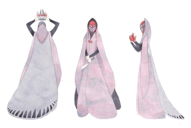 Lady MacBeth - Kelly Airo - illustration - kairo-1139   ello