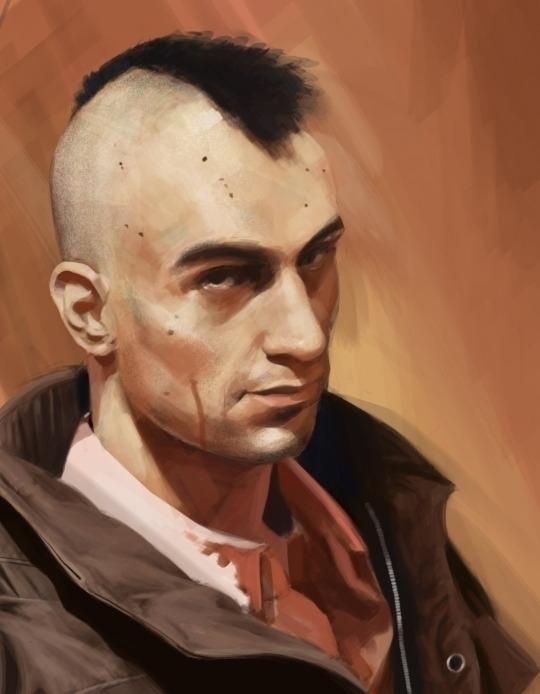 Taxi Driver - portrait, illustration - josehdz_illustration | ello