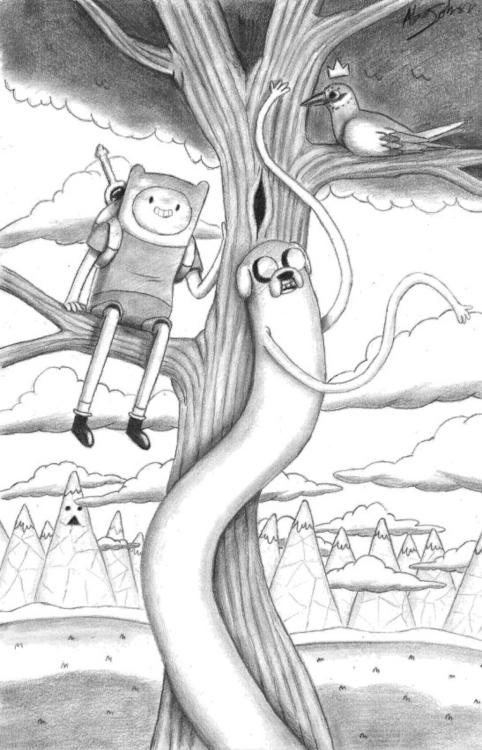 tree Bird King - adventuretime, AdventureTime - alexjohnston | ello