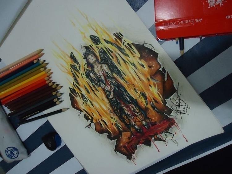 Domina Exsors - illustration, fantasyillustration - vanniegama   ello