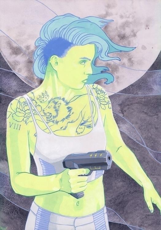 Strength - Kelly Airo - illustration - kairo-1139 | ello