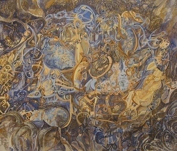 painting, art, abstractpainting - annafilimonova | ello
