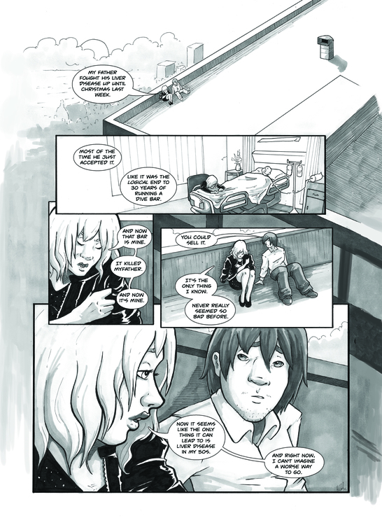 Short Comic ''Jump'' page 2 - comic - ihazart | ello