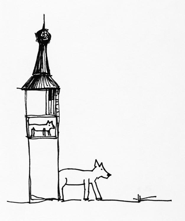 illustration, blackandwhite, drawing - tychonikum | ello