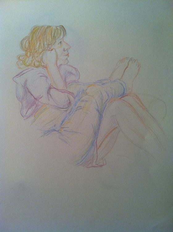 couch - sketch, sketchbook, sketches - clarisse-1174   ello