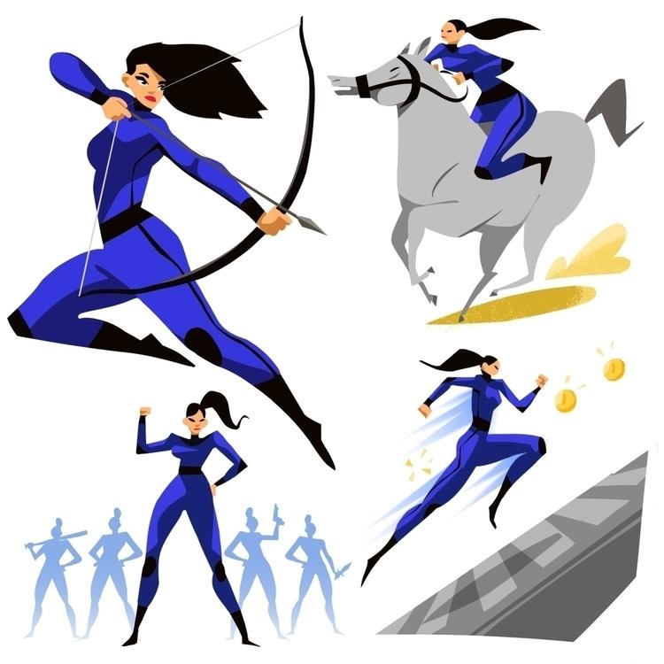 hero - characterdesign - johnstarr-5395 | ello