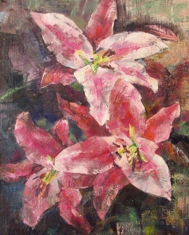 lily - painting - vladimirmishyra   ello