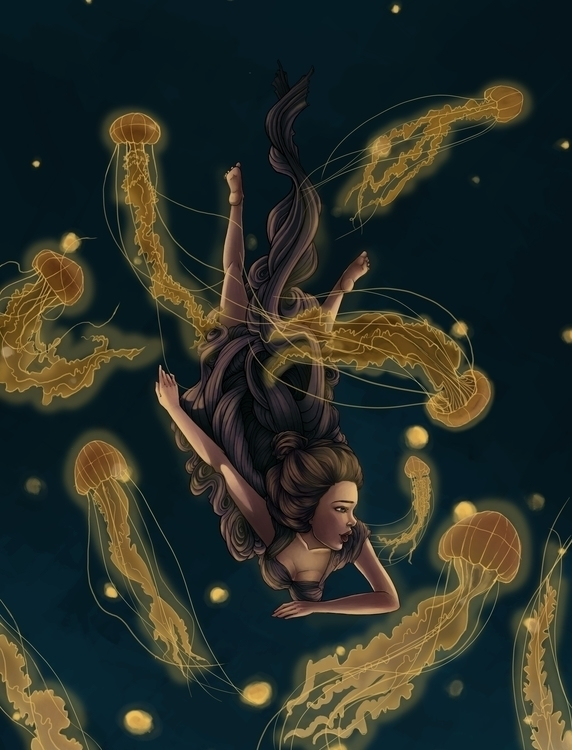 Sea Featuring JELLYFISH - underthesea - angiepai   ello