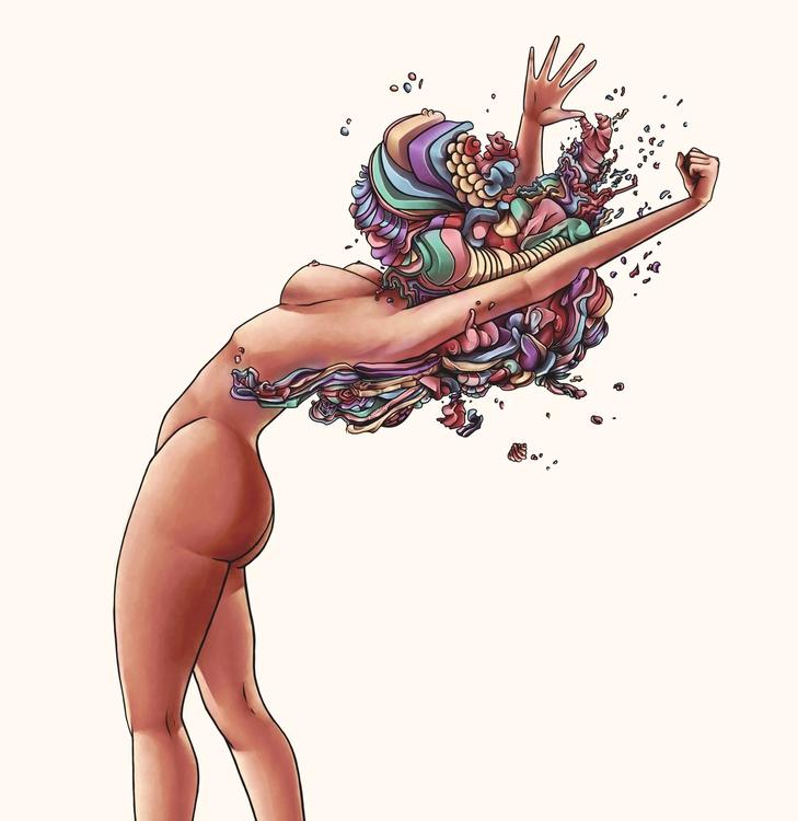 aBstract - naked, woman, #aBstract - angiepai   ello
