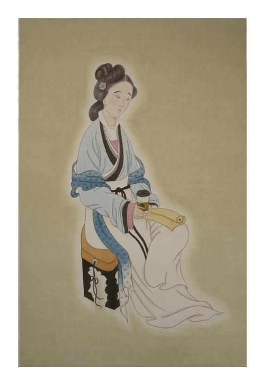 Traditional women - chinesebrushpen - awesomewei | ello