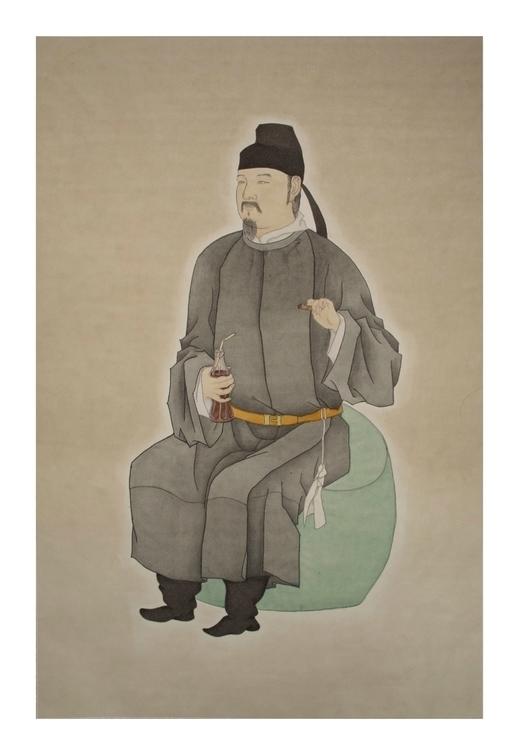 Traditional man - fineart, chinesebrushpen - awesomewei | ello