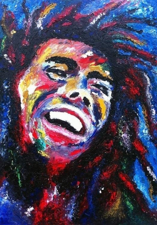 Bob Marley A1 Palette Knife, Ac - bigfloppybanana | ello