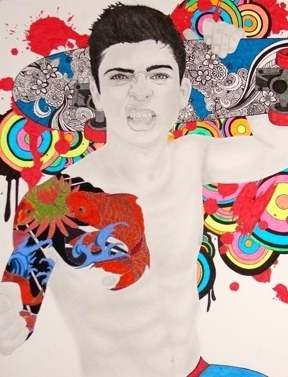 Skater boy - illustration, characterdesign - cavano | ello