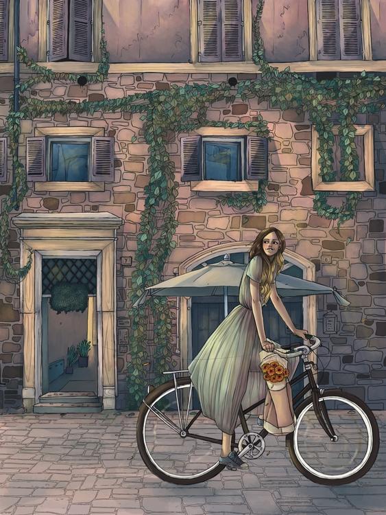 Evening Italy - evening, italy, europe - angiepai | ello