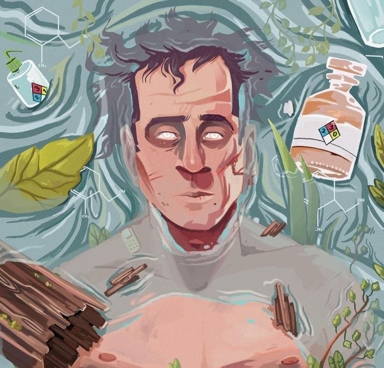 Poison illustration - art, digitalart - kalegiro | ello