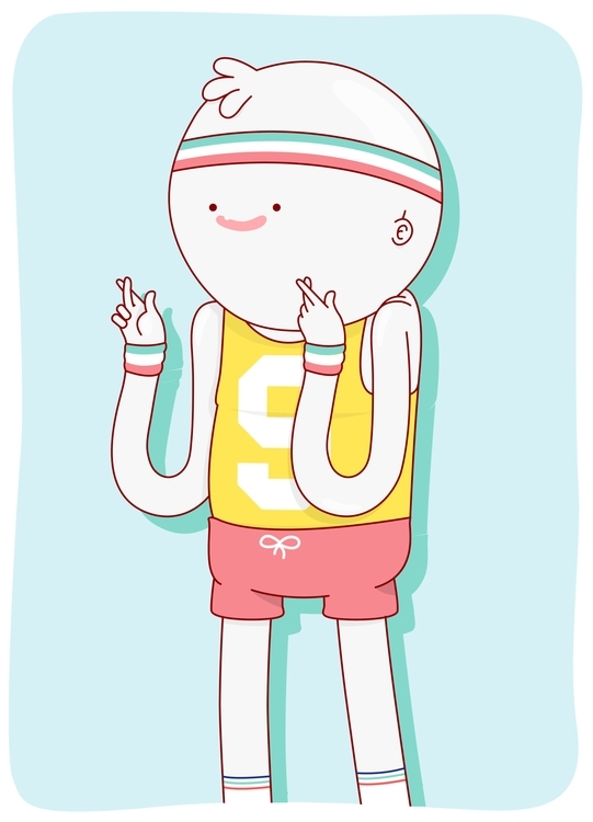 Player - illustration, characterdesign - lucianitodiaz | ello