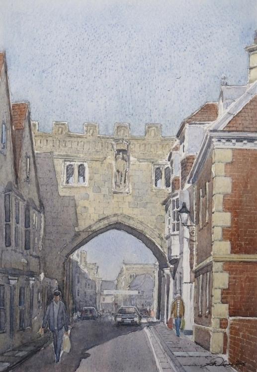 High street gate, Salisbury. vi - andrewlucas | ello