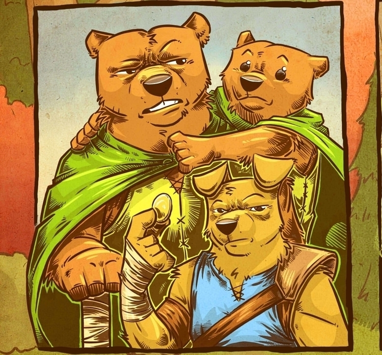 Prelim concept comic book chara - artmutt | ello