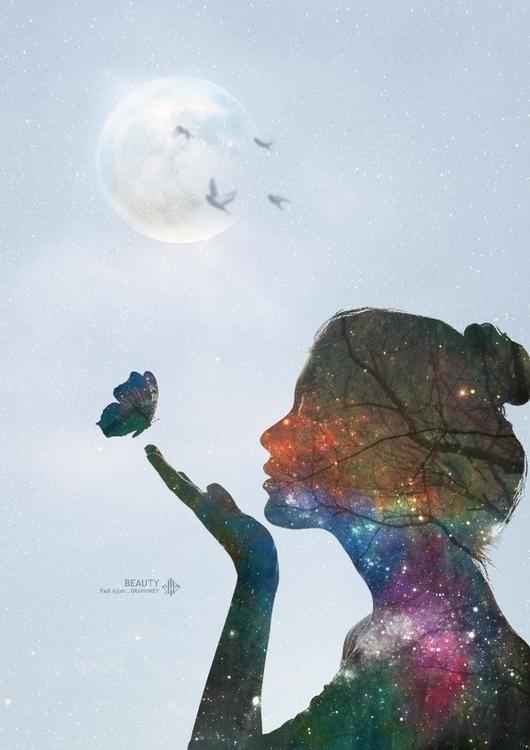 beauty - illustration, painting - fadi_art | ello
