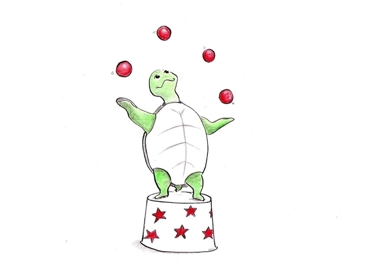 Animal circus - illustration, kidlitart - patriciadecos | ello