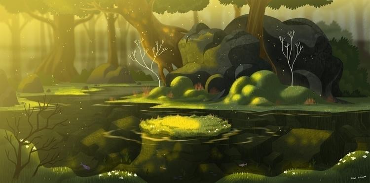 illustration, digitalart, environment - hugocuellar | ello