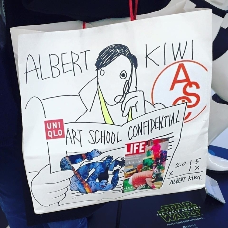 shopping bag illustrarions - illustration - albertkiwi | ello