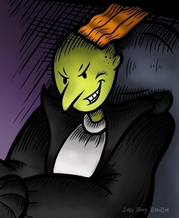 drawn bully month Roger Klutz D - jellysoupstudios | ello