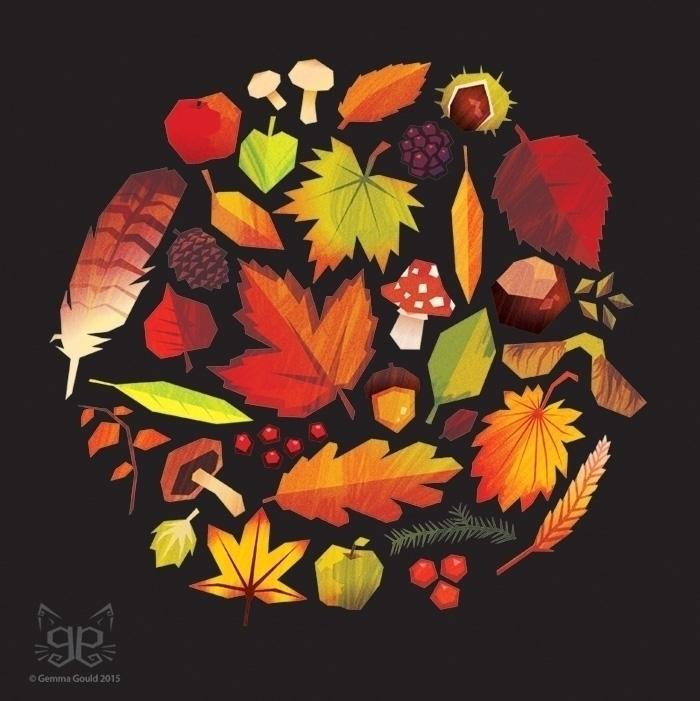 Green Gold - autumn, greengold, fall - gemmagould | ello