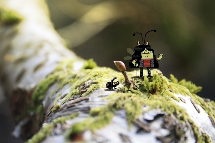 Elf - illustration, digitalart, characterdesign - hugocuellar | ello