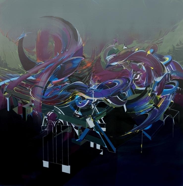 100x100 acryl canvas jakub reke - jakubreken | ello