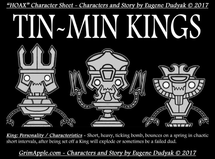 illustration, characterdesign - grimapple | ello