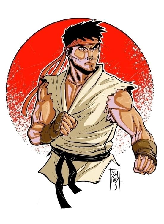 Ryu Street Fighter - streetfighter - cemiroz | ello