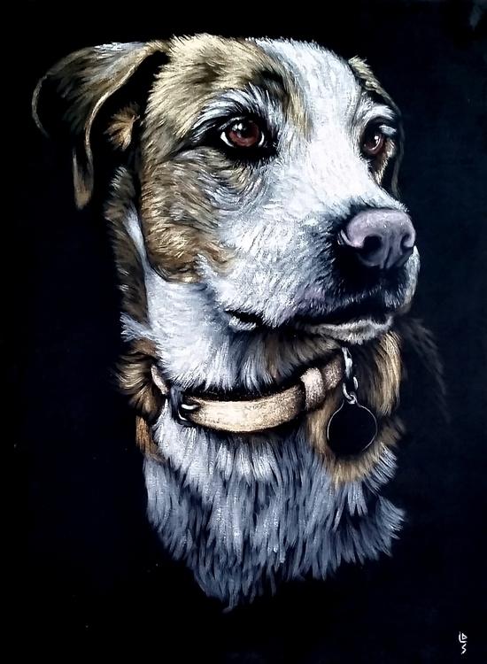 Henry - painting, velvet, blackvelvet - dslebodnick | ello