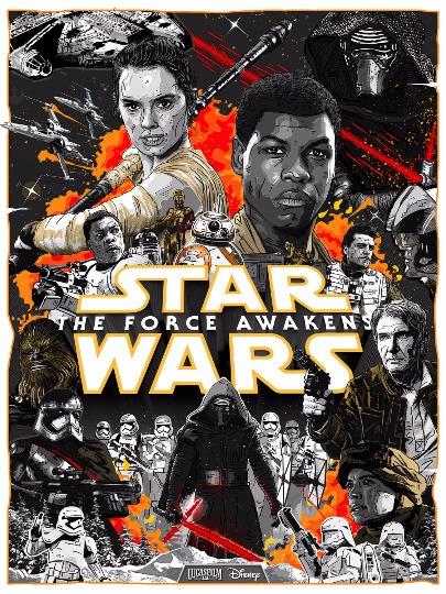Star Wars Force Awakens Poster - darrenwamboldt | ello