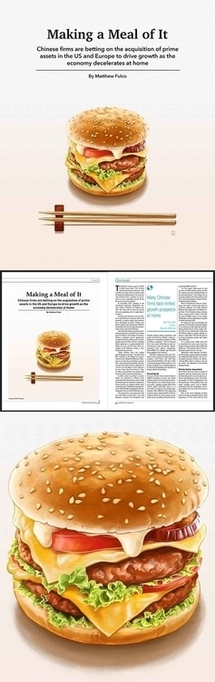 'Making Meal Illustration CKGSB - bingnanwei | ello