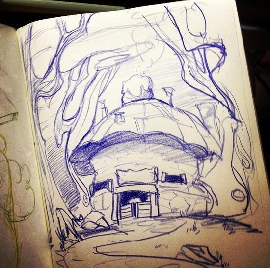 shack woods - house, forest, restaurant - sheeprilyn | ello