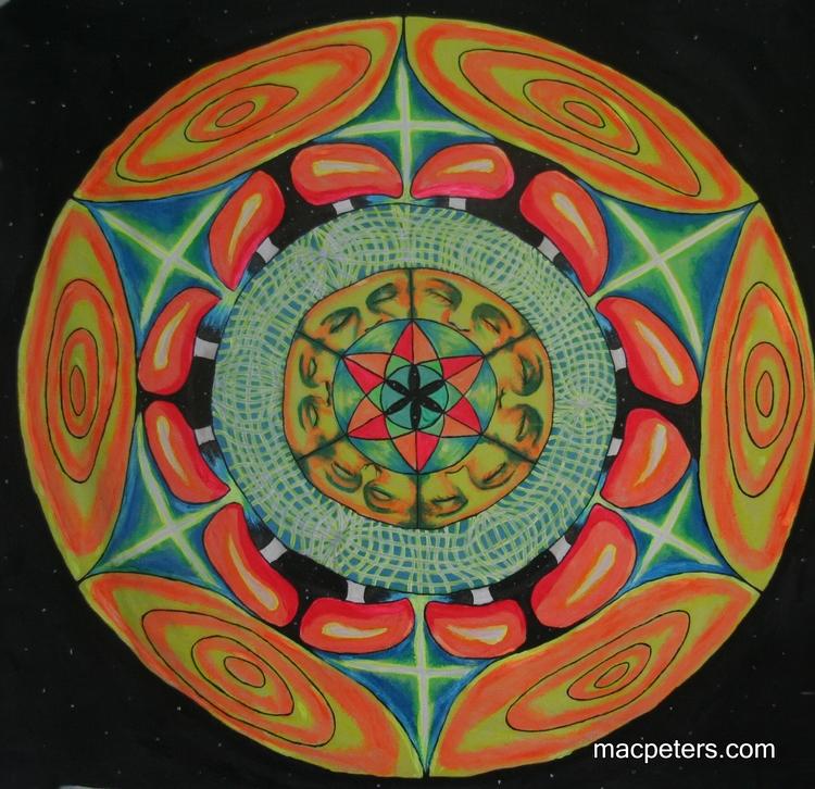 Dreamscape - visionaryart, symmetry - macpeters | ello