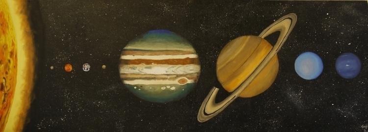 planets, solarsystem - travisdow | ello
