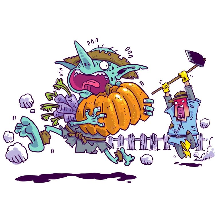 002 - Goblin Farmer Apparently  - rtcustoms | ello